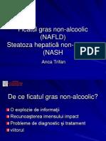 Ficatul Gras Non-Alcoolic (NAFLD)