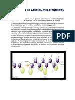 Polimeros de Adicion y Elastómeros