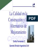 CESMEC - Emilio Fernandez
