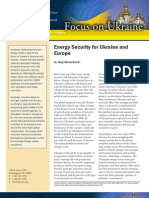 Energy Security for Ukraine and Europe