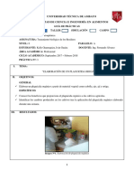 Elaboracion de Plaguicida Organico