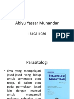 Parasitologi Abiy