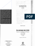 Do Governo Dos Vivos Curso No Collège de France 1979-1980 Excertos