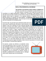 El Valor de La Televisión en La Sociedad
