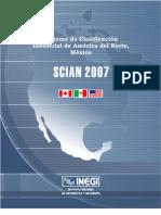 SCIAN México 2007 (26enero2009)