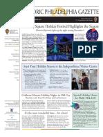 Historic Philadelphia Gazette - November/December 2017