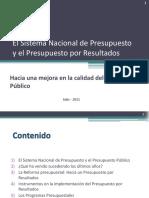 PpR - Presupuesto