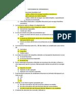 Cuestionario de Contabilidad II
