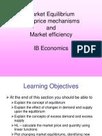 Price Mechanisms