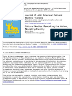Sarlo Cultural Studies Reworking the Nation Revisiting Identity