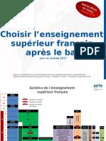 2016 09 06 Diaporama Aefe Choisir Enseignement Superieur Francais