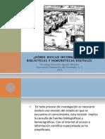 Bibliotecas y Hemerotecas Digitales