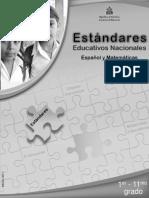 Estndares 1§-11§ ESP-MAT (2011).pdf