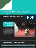 Menghitung Draft Kapal