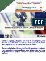Lecture 7 - Dirección de la empresa. La planeación..pptx
