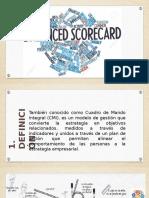 Balanced Scorecard Exposición