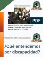 PSICOLOGÍA DE LA DISCAPACIDAD 2016 UDABOL (1).pptx