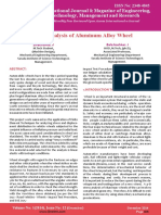 Impact Analysis of Aluminum Alloy Wheel - [V. Sivakrishna, J. Balabashker].pdf