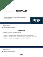 CUARTA CLASE - arbitraje