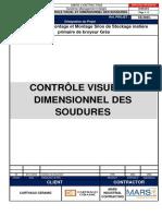 CE0045-Procedure de Contrôle Visuel Et Dimensionnel Des Soudures
