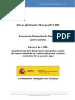 Art5 Directiva 60_2000_CE (Directiva Marco Sobre Política de Aguas)_DHGuadiana