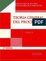 Teoria General Del Proceso-Tomo II-Ferreyra-De de La Rua - Copy