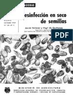 desinfectar semillas