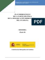 Rev. Plan Hidrológico 2015-2021 DHGuadiana Memoria Parte II