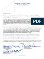 Letter to Amtrak president and co-CEO