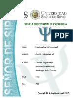 Informe Evaluacion Clinica y Psicologica
