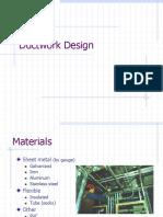 Ductwork Design