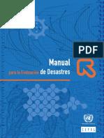 Manual Para La Evaluacion de Desastres