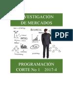 Programación y Evaluación IM Corte No 1