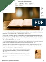 27 Livros Perdidos e Citados Pela Bíblia