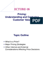 Lecture-16-Pricing-Understanding and Capturing Customer Value