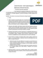 Estructura Metodológica Trabajo Final Diplomado Dirección Financiera