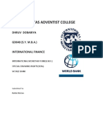 I.M.F,World Bank