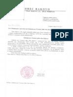 Oznamenie o prerokovani uzemného plánu obce Rakovo