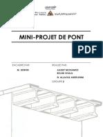 Rapport Projet Pont 2011