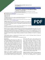 Ento-epidemiological Characterization of Dengue in Uttarakhand