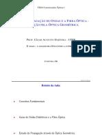 Aula2-PROPAGAÇÃO DE ONDAS EM FIBRAS ÓIPTICAS
