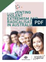 Preventing Violent Extremism and Radicalisation in Australia