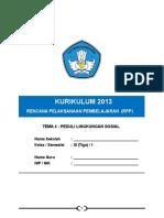 4. RPP Kls 3 Tema 4 Peduli Lingkungan Sosial Subtema 1