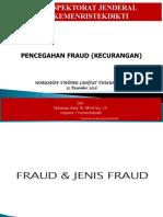 Pencegahan Fraud 15122016