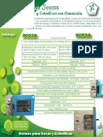 Hojas Hoja Tecnica206