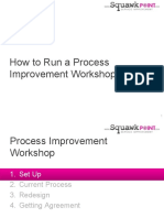 How to Run Workshop