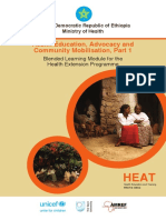 Health Education, Advocacy and Community Mobilisation