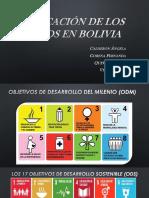 Aplicacion de Los 17 Ods en Bolivia