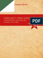 Komunisti Crne Gore i crnogorsko nacionalno pitanje 1919–1989.
