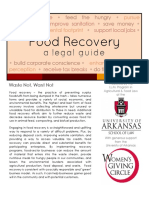 Legal Guide to Food Recovery